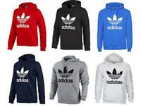 ADIDAS HOODIES SIZES FROM S.M.L.XL