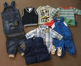 Baby boy bundle. Size up to 3 months