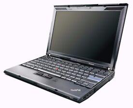 Lenovo Thinkpad X201 Executive laptop i5 processor, 4GB RAM, 500GB HD Win7 (optional SSD + Win10)