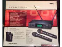 Wireless Mic ATW3110 Audio Technica - boxed, unused, VGC