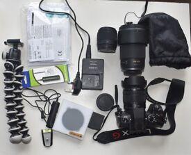 Panasonic Lumix G80 + Lenses & Kit