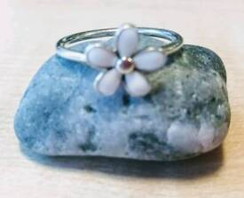 Genuine Pandora stacking ring.