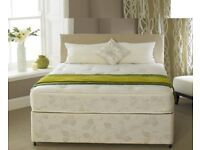 **SAME DAY DELIVERY**Brand New Single / Double / King size Luxury Divan Bed WITH MEMORY FOAM MATRES
