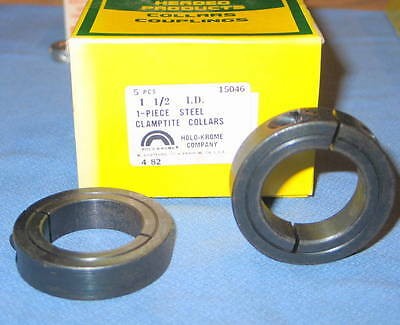 Box of 5 Holo-Krome CLAMP-TITE 1-1/2