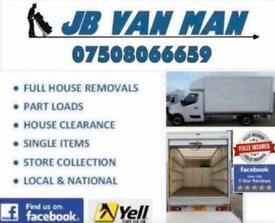 North East House Removals - Large Luton Van 5 Star Service Two man team