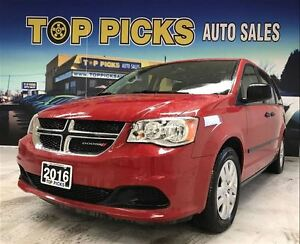 2016 Dodge Grand Caravan CANADA VALUE PACKAGE!