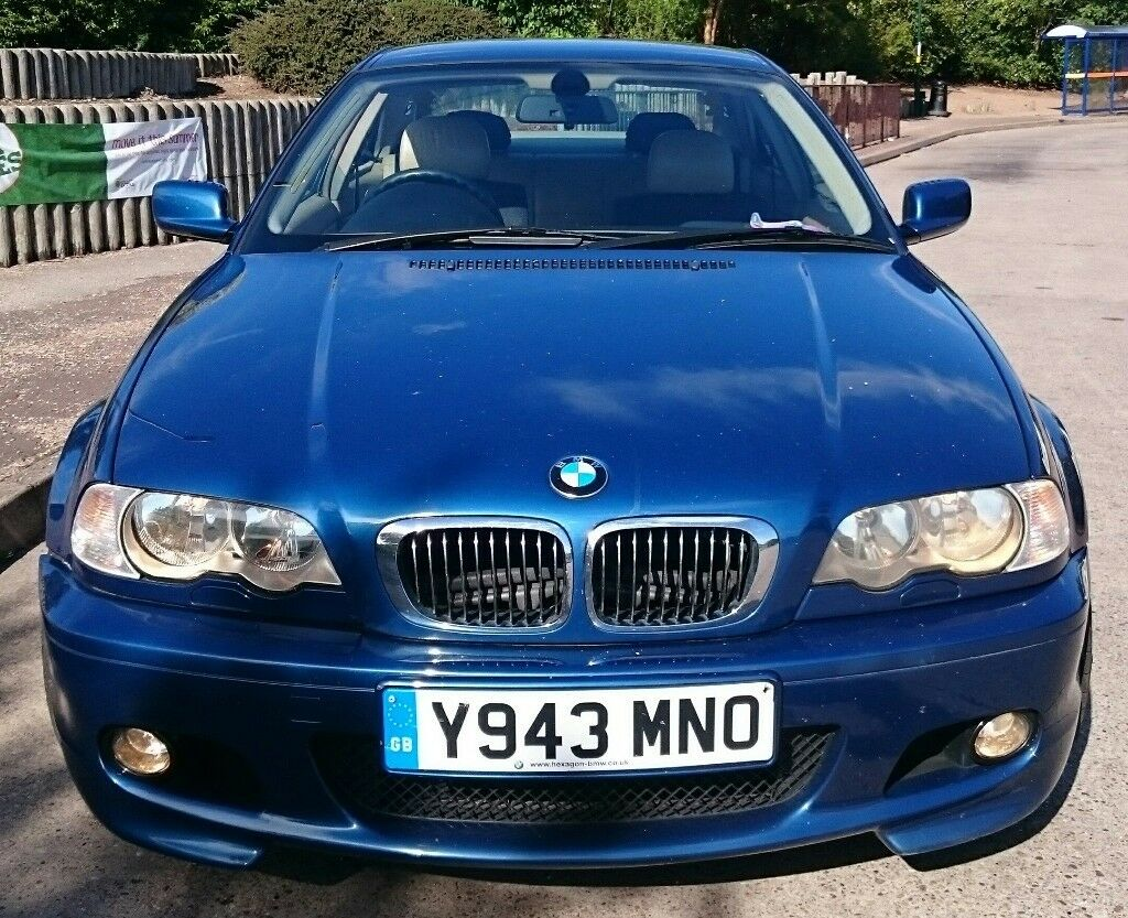BMW Convertible 2001 bmw 330i coupe BMW E46 330i 2001 Coupe Manual 170K miles Topaz Blue | in Coventry ...