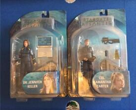 2 Stargate Atlantis figures - collection only
