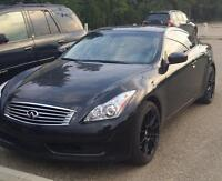 2010 Black Infiniti G37x Premium Coupe (2 door)