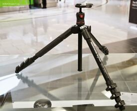 Manfrotto Befree tripod with ballhead and optional befree fluid video head