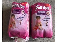 Huggies potty training pants/ pull ups size L partial pack 18
