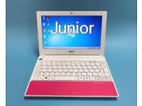 Acer Fast Laptop 250GB, 2GB Ram, Windows 7, Microsoft office, Excellent Condition, lightweight