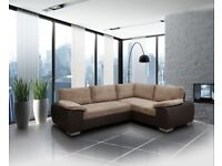 SOFA SALE PRICES, Home Is Heart Ltd: Enzo sofa beds, available in leather and cord fabric.