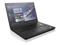"Lenovo ThinkPad T460 Intel Core i5-6300U 256GB SSD 8GB 14"" Windows 10,"