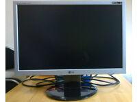 20 Inch Widescreen LG Monitor