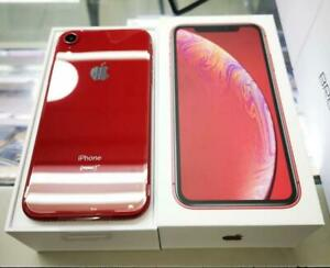 IPHONE XR 64GB WHITE & RED BRAND NEW NEVER USED W/ APPLE WARRANTY -SEALED