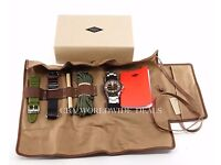fossil nate scouts edition digital/analog multi strap mens watch brand new