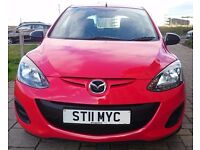 2011 Mazda 2, 1.4 low milage - only 46k, excellent conditon, full 12 months MOT