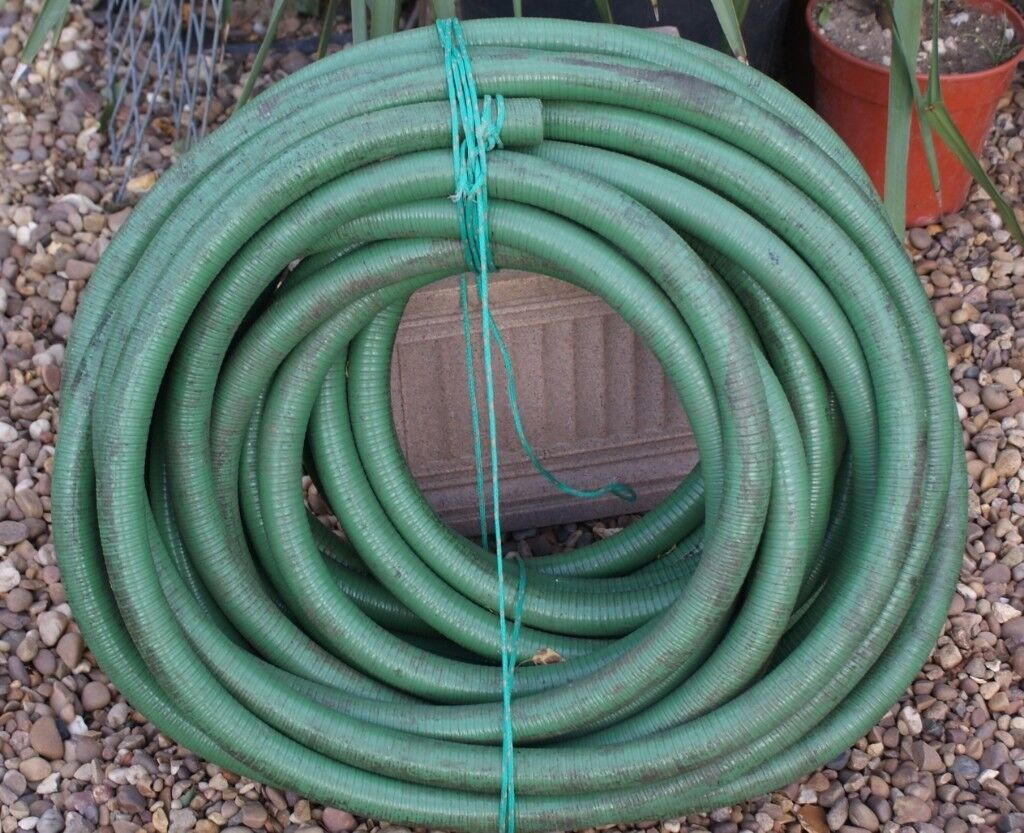 98 Feet Medium Grade Flexible Ridged New Hose Piping Many Uses Electrical Wire Pipe Only 25 Can Deliver