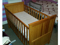COTBED for sale ONLY £50 - good condition. mattress included if required