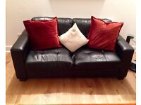 Modern stylish 3 seater sofa for quick sale good condition. Collection only