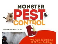 Call 020☎️8077☎️8965 - Monster Pest Fumigation & Control 🐛 Removal Guarantee