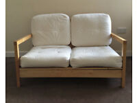 IKEA Lillberg two seater sofa with removable/washable cotton covers