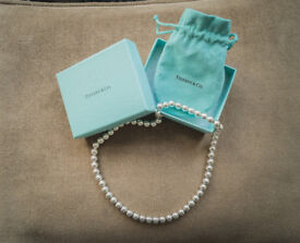 Tiffany Solid Silver Necklace
