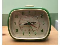 Vintage-inspired alarm clock