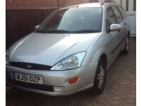 Ford Focus 1.6 estate, very good condition, no longer needed 9 months mot absolute bargain