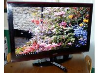 """HUGHE 46"""" LCD FULL 1080P HD TV EXCELLENT WORKING ORDER CAN DELIVER"""