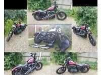 Harley Davidson XL883N Sportster Iron 2009