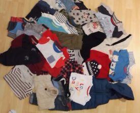 HUGE bundle 6-9mth Boys clothes