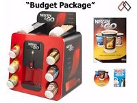 Nescafe and Go Machines only for 50.00 pounds.