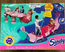 Child's Toy Dining Set and/or Dream Boat