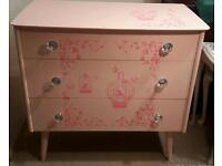 Chest of drawers - beautifully upcycled