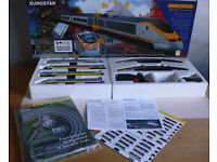 Hornby R816 Eurostar Electric Train Set RARE, Class 373, MINT Boxed Condition, OO Gauge