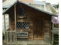 Large play house / Wendy house for sale,needs tlc