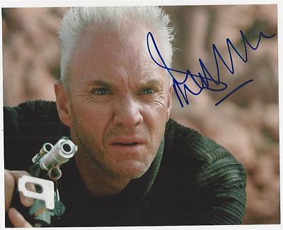 Malcolm McDowell - Star Trek Generations signed photo
