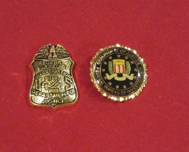 FBI Bureau seal and agent