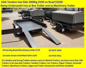 10X6 Tandem Box Trailer Extra Heavy Duty $3200 Minchinbury Blacktown Area Preview
