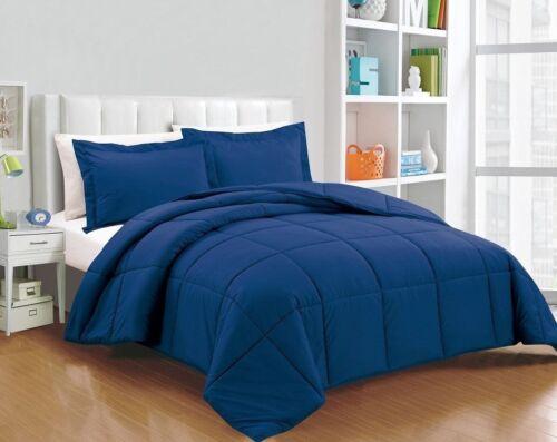 Chezmoi Collection 3-piece Down Alternative Comforter Set