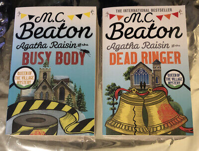 Agatha Raisin Collection 2x M. C. Beaton Paperback Books for sale  Shipping to Ireland