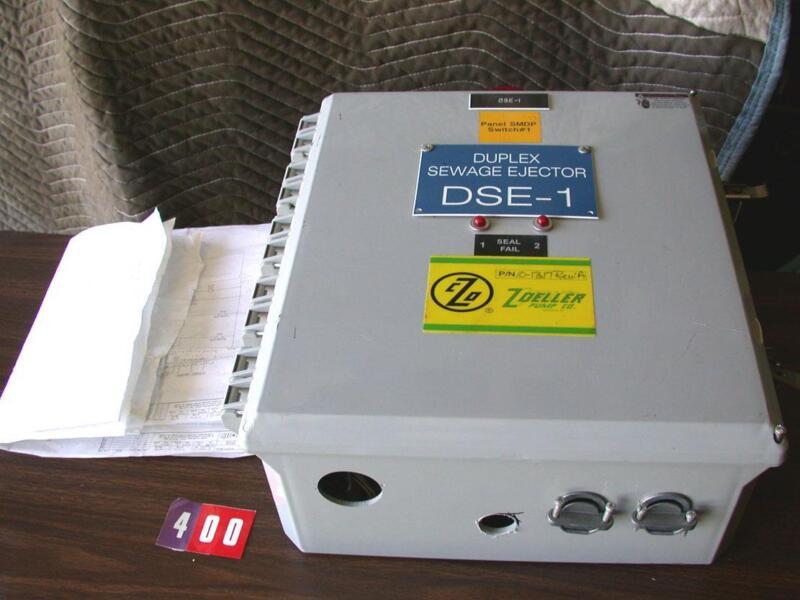 Zoeller SJE-Rhombus 10-1317 rev-A Pump Duplex control panel enclosure + diagram