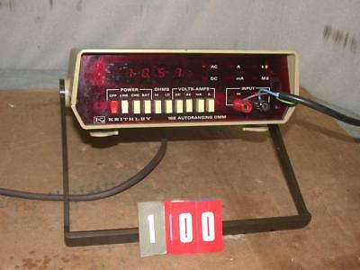 Keithley 168 Autoranging Dmm Digital Multimeter Free Sh
