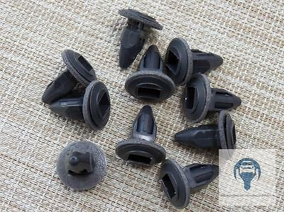 10x Mounting Clips For Vauxhall Opel Astra Calibra A Combo Corsa Black Plastic