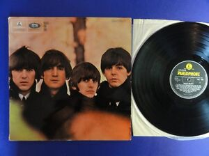 THE-BEATLES-FOR-SALE-parlophone-64-3N-4N-UK-Lp-ex-vg