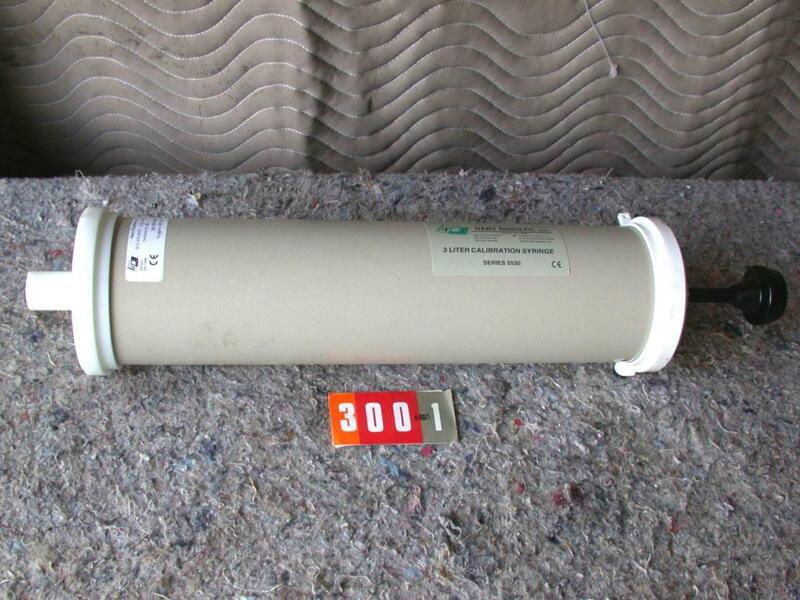 Hans Rudolph 3 liter calibration syringe 5530 series