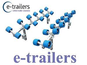 Easy Glide Boat Trailer 24 Wobble Roller System Easy Launch & Recovery Multi Fit
