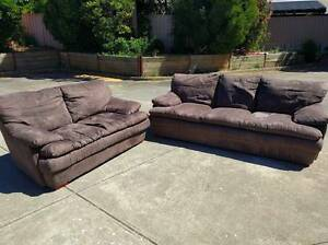 Tornado 3 Seater & 2 Seater Couch / Sofa / Lounge Wynn Vale Tea Tree Gully Area Preview